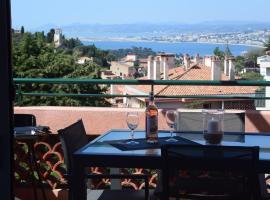 Agréable 3 pièces climatisé avec vue mer et parking, apartment in Villefranche-sur-Mer