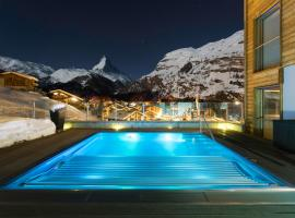 Chalet Nepomuk, hotel near Findelbahn, Zermatt