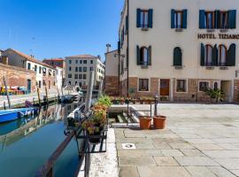 Hotel Tiziano, hotell i Venedig