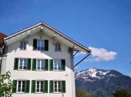 Landiyang Holiday Apartments 1, apartment in Interlaken