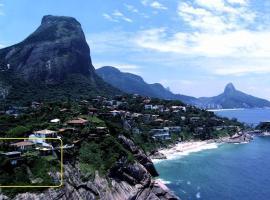 Cliffside, hotel poblíž významného místa Pedra Bonita, Rio de Janeiro