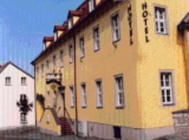 """Hotel """"Zur Sonne"""", Hotel in der Nähe von: Schauweinberg Herzoglicher Weinberg, Querfurt"""