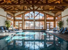 CGH Résidences & Spas La Reine des Prés, hôtel à Samoëns
