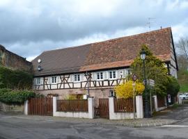 Ferienhaus Pfistermühle, hôtel à Wissembourg