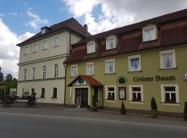Traditionsgasthof Grüner Baum, отель в городе Бад-Штаффельштайн