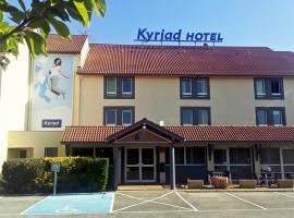 Kyriad Lyon Est - Saint Bonnet De Mure, hôtel à Saint-Bonnet-de-Mure près de: Aéroport de Lyon - Saint-Exupéry - LYS