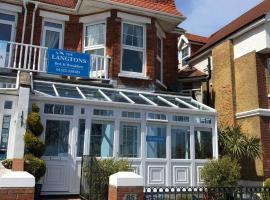 The Langtons, hotel near Shinewater Park, Eastbourne