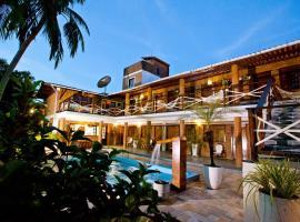 Pousada Lua Cheia, beach hotel in Praia do Frances