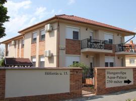 Imola és Andrea Apartmanház 2, családi szálloda Hajdúszoboszlón