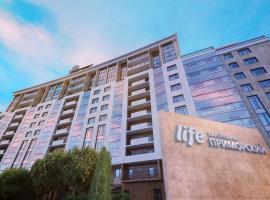 Residential Complex Life-Primorskiy in St. Petersburg, hotel near Gazprom Arena Stadium, Saint Petersburg