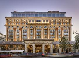 The Ritz-Carlton, Moscow, hotel near Lenin Mausoleum, Moscow