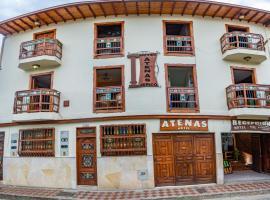 Hotel Atenas Jericó, hotel in Jericó