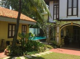 Casugria Dutch Residence 1810, vacation rental in Malacca