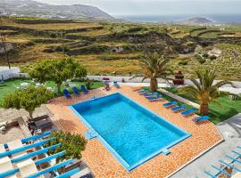 Zorbas Hotel Santorini, hotel a Pyrgos