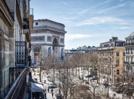 Etoile Park Hotel, hotel in Paris