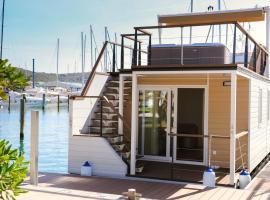 Marina Luxury Houseboat Lavender, počitniška hiška v Portorožu