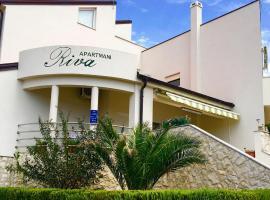 Apartments Riva Povljana, family hotel in Povljana