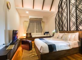 Siam Nitra Boutique Hotel, hotel in zona Centro artistico e culturale di Bangkok, Bangkok