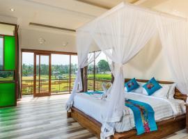 Green Sala Villa, villa in Ubud