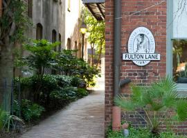 Fulton Lane Inn, boutique hotel in Charleston