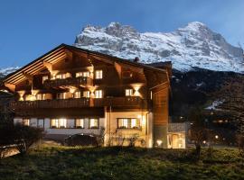 Boutique Hotel Glacier, отель в Гриндельвальде