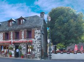 Hotel De La Poste, hotel in Saint-Martin-sous-Vigouroux