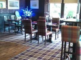 Burnett Arms, hotel near Tolquhon Castle, Inverurie