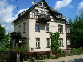 "Pension & Ferienwohnung ""Villa Agnesruh"", apartment in Bad Elster"