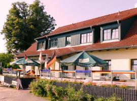 """Landgasthof """"Wirtshaus Zur Eibe"""", Hotel in der Nähe von: Fleesensee, Jabel"""