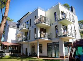 Villa Reza, family hotel in Pobierowo