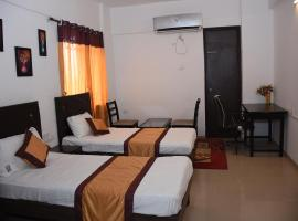 JK Rooms 132 Parkland Service Apartment, family hotel in Nagpur