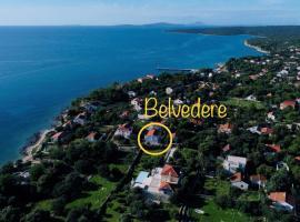 Belvedere, budget hotel in Silba