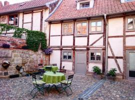 Hotel garni Tilia, hotel a Quedlinburg