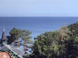 Meerblick und Ruhe, hotel near Kawcza viewpoint, Międzyzdroje