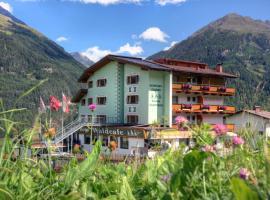 Hotel Waldcafe, hotel in Sölden