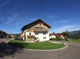 Ferienhof Prinz, apartment in Oberreute