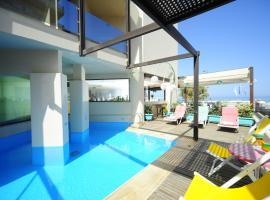 Steris Elegant Beach Hotel & Apartments, pet-friendly hotel in Rethymno Town
