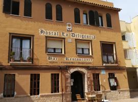 Hostal Restaurante La Diligencia, homestay in Cunit