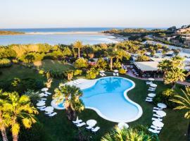 Hotel Aquadulci, golf hotel in Chia