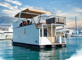 Floating House Adela, počitniška hiška v Portorožu