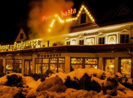Hotel Pivovarská bašta, hotel in Vrchlabí