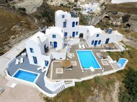 Santorini Traditional Suites, hôtel acceptant les animaux domestiques à Vóthon