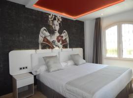 Hostal Doña Carmen (Adults Only), accessible hotel in Nerja