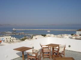 Panorama Hotel, отель в Наксосе