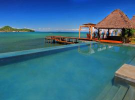 L'heure Bleue, resort in Ambatoloaka