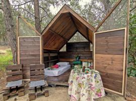 Drolma Ling Camp, campground in Theologos