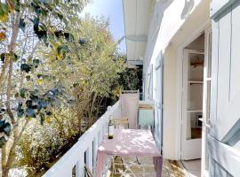 Villa Blanche Appartement le Capitaine, hôtel à Cap-Ferret
