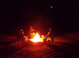 Bivouac Draa, luxury tent in Mhamid