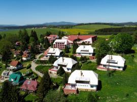 Fontána Lipno, hotel v destinaci Černá v Pošumaví