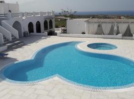Villa Iliovasilema Santorini, hotel in Akrotiri